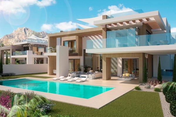 7 Bedroom, 8 Bathroom Villa For Sale in Rocío de Nagüeles, Marbella Golden Mile